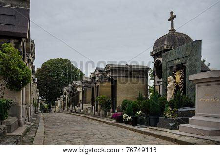 Montmartre Cemetery in Paris