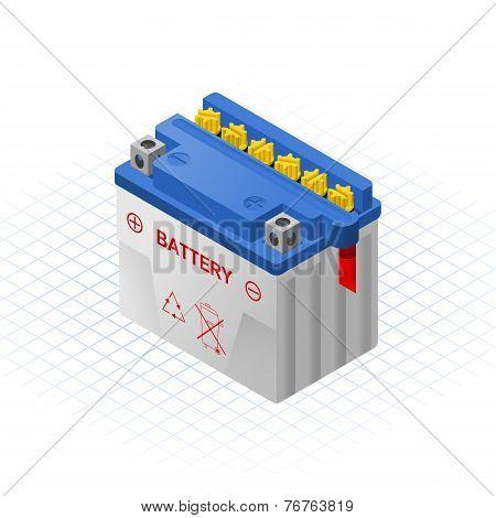 Wet Accumulator Vector Illustration