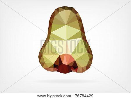 Low Poly Makopa (java wax apple)