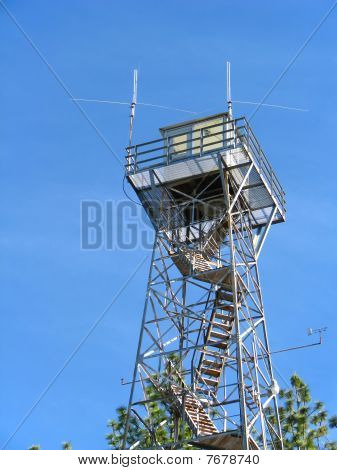 Forest Fire Lookout Tower.