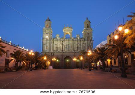 Cathedral In Las Palmas De Gran Canaria