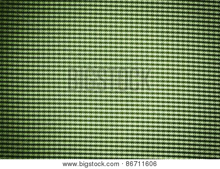 Green Textille Texture As Background