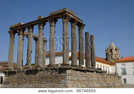 Ruin Of Roman Antic Temple