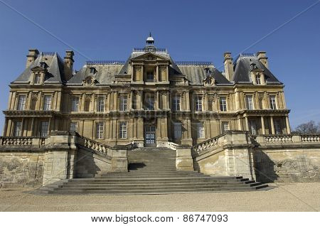 Historical Castle Of Maisons Laffitte In Les Yvelines