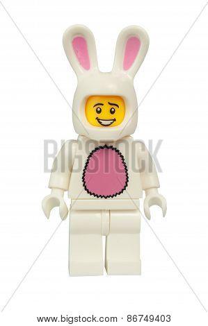 Bunny Suit Guy Lego Minifigure