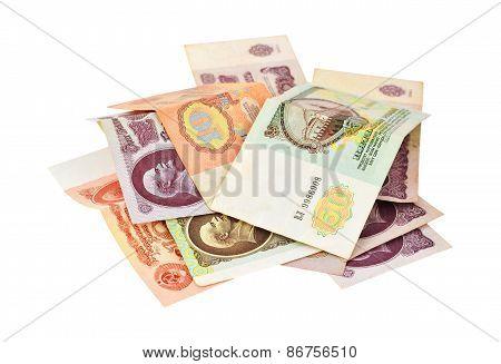 Money of disintegrated Soviet Union (USSR)