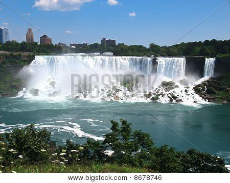 Niagara Falls afternoon