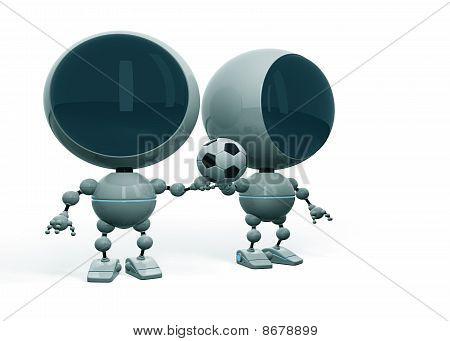 Robots Love Football