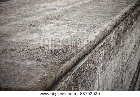 Gray Concrete Wall Corner