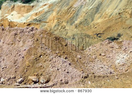 Strata Of Rock And Dirt