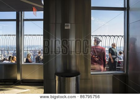 Empire State Building Staff
