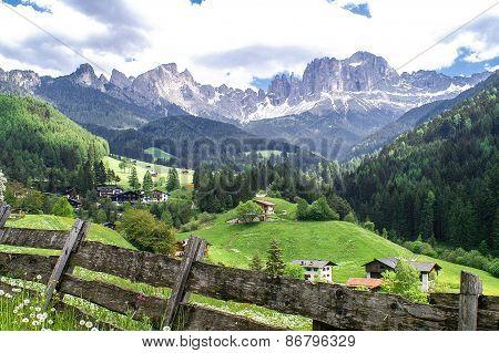 South Tyrolean Mountain Landscape