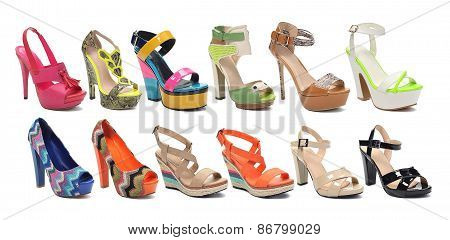 ?ollection of women's Shoes