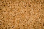 Close Up Texture Color Detail of Surface Cork Board Wood Background Nature Product Industrial poster