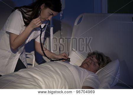 Auscultating The Patient