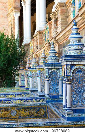 Ceramics Work At Spain Square