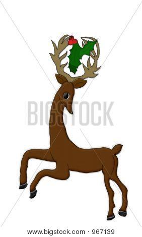 Stylized Reindeer