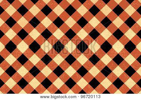 Vintage Crisscross Pattern