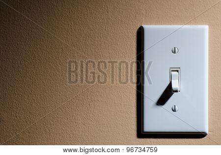 Plastic light switch