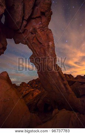 Elephant Rock At Night Up Close