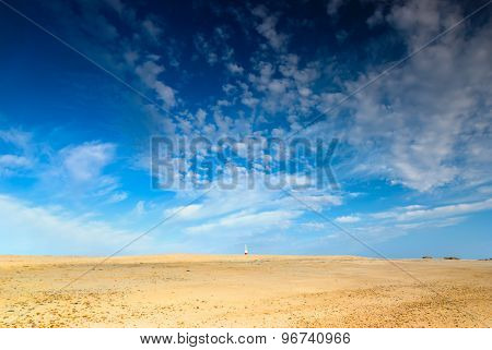 Sand And Sky Background