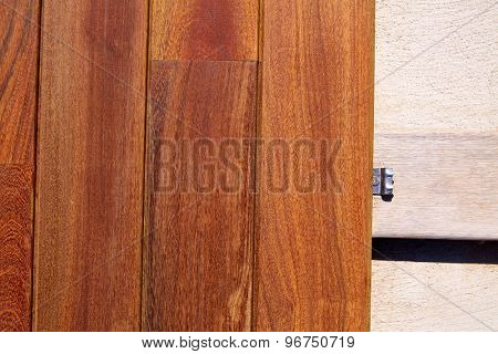 Ipe teak decking deck wood installation clips fasteners poster