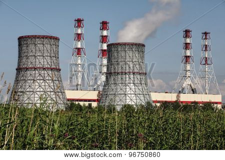 Combined Heat And Power Plant, Electrical Station