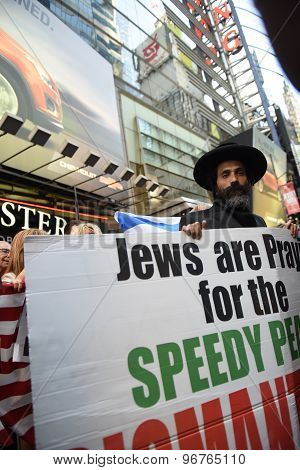 Neturei Karta in Times Square