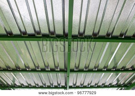 Roof Of Galvanized Iron