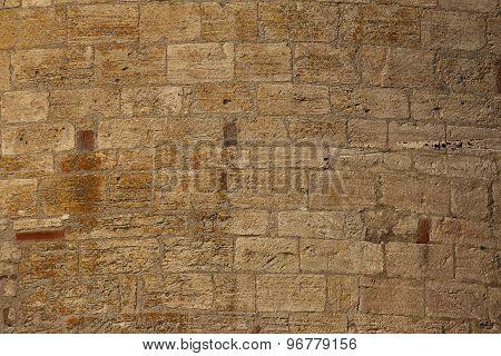 Convex Freestone Wall