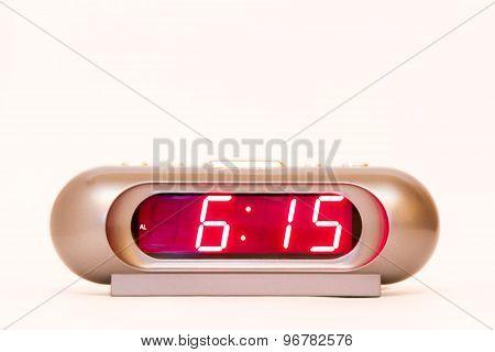 Digital Watch 6:15