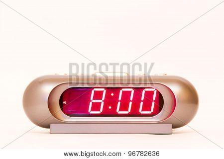 Digital Watch 8:00