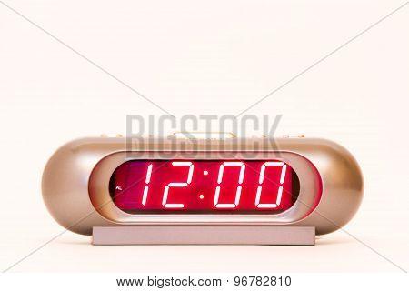 Digital Watch 12:00