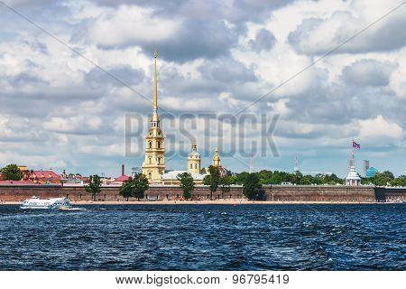 Peter and Paul Fortress St. Petersburg Russia poster