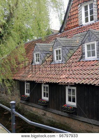 Goslar slated house