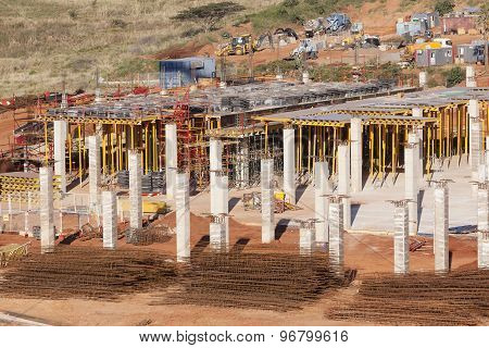 Building Construction Basement Floor
