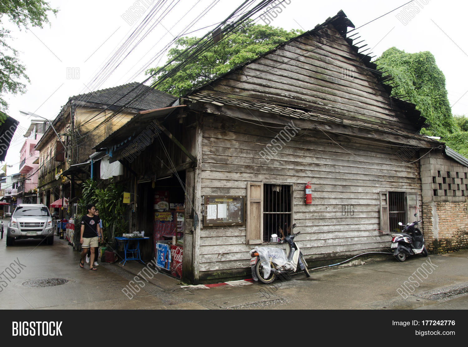 Classic old house old town image photo bigstock for Old house classics