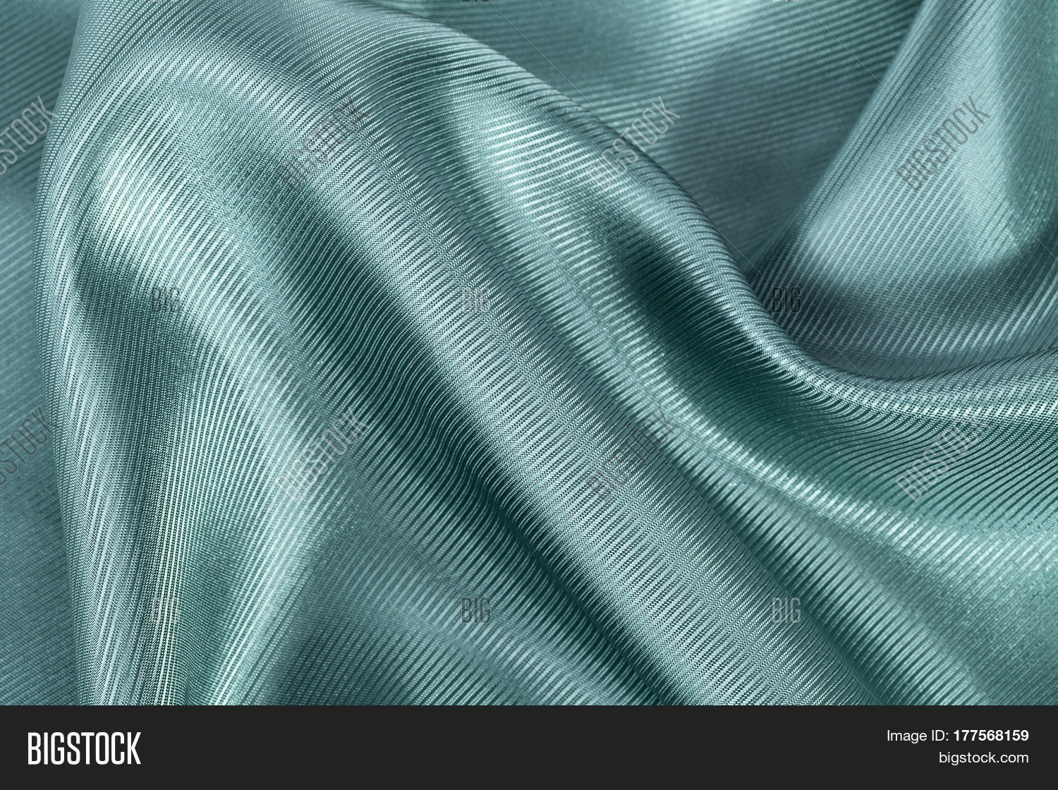 Silk Background Texture Green Shiny Image Amp Photo Bigstock