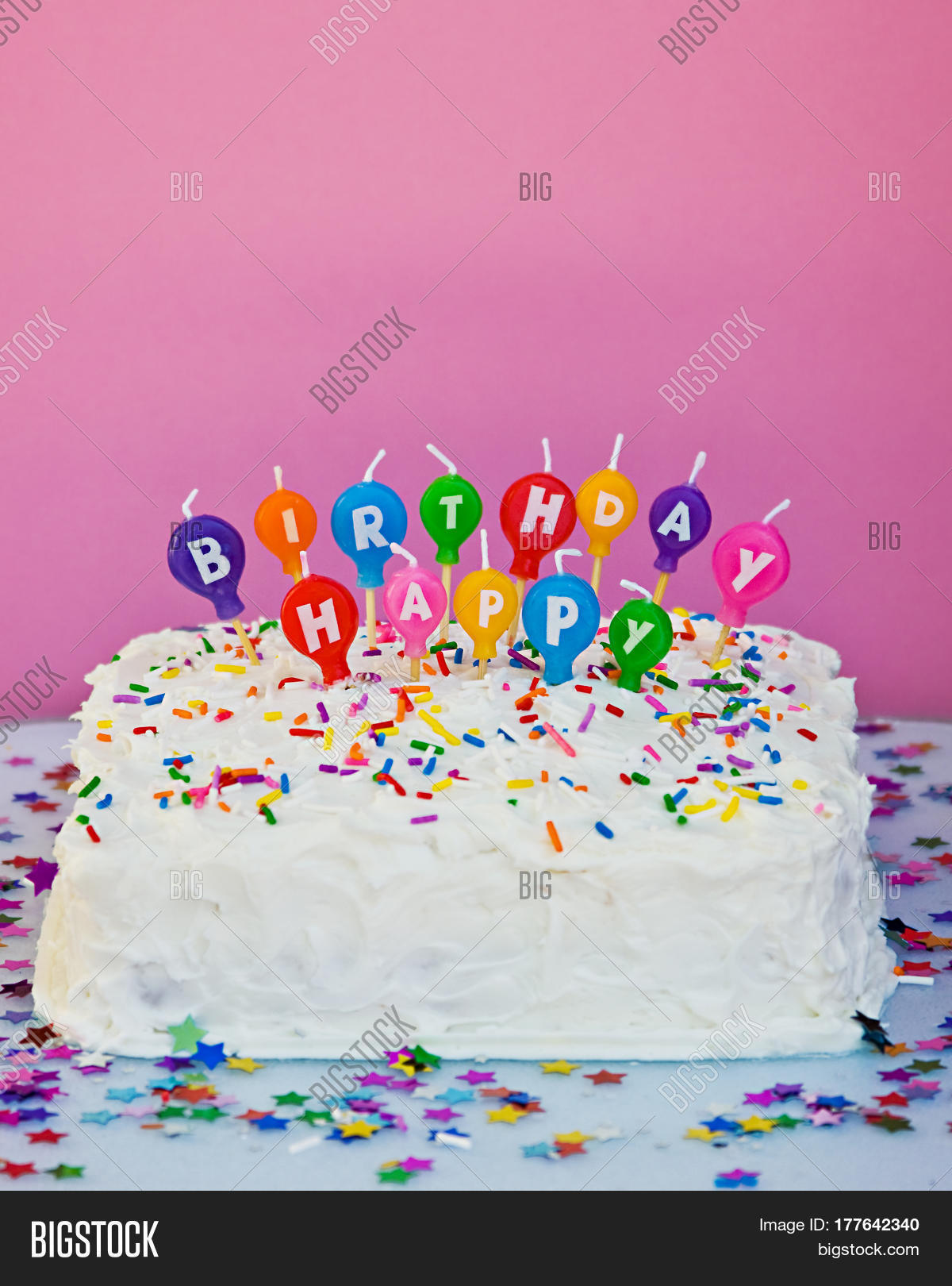 Amazing Home Made Square Cake Image Photo Free Trial Bigstock Funny Birthday Cards Online Overcheapnameinfo