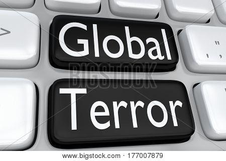 Global Terror Concept
