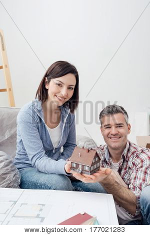 Couple Building Their Dream House