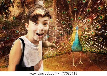 Teen Boy In Hoshimin City Zoo