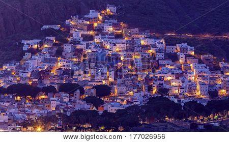 San Andres Santa Cruz de Tenerife. Tenerife Canary Islands Spain.