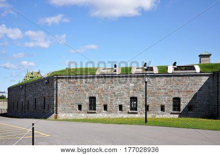 La Citadelle of Quebec, Quebec City, Quebec, Canada.