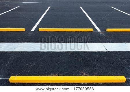 Empty parking lot,  Public carpark, Outdoor parking.