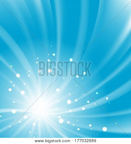 Illustration Abstract Bursting Background, Motion, Whirpool Explosion - Vector