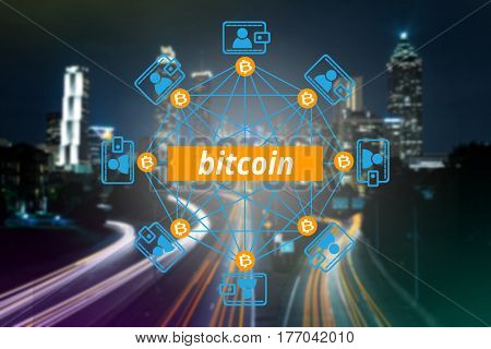Block chain network a cryptographically secured chain Bitcoin Digital money