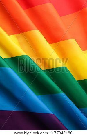 Rainbow gay flag background