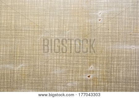 Close up of abstract grey background texture with cracks on plastic tablecloth