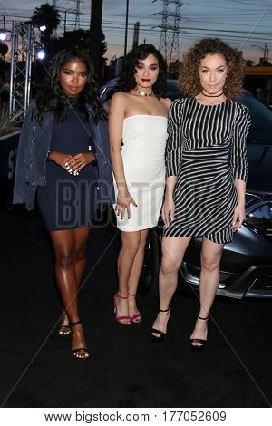 LOS ANGELES - MAR 14:  Ryan Destiny, Jude Demorest, Brittany O'Grady at the Honda Stage An Exclusive Evening with STAR at iHeart Theater on March 14, 2017 in Burbank, CA